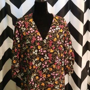 Zara Mini Shift Dress XL